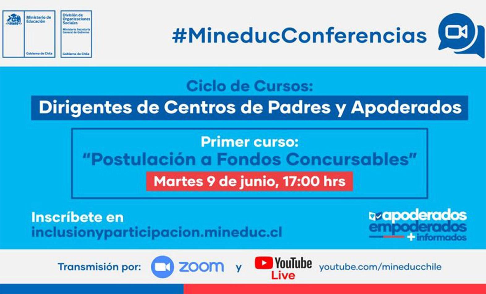 MINEDUC Y D.O.S. INICIAN CAPACITACIÓN PARA DIRIGENTES DE CENTROS DE PADRES Y APODERADOS