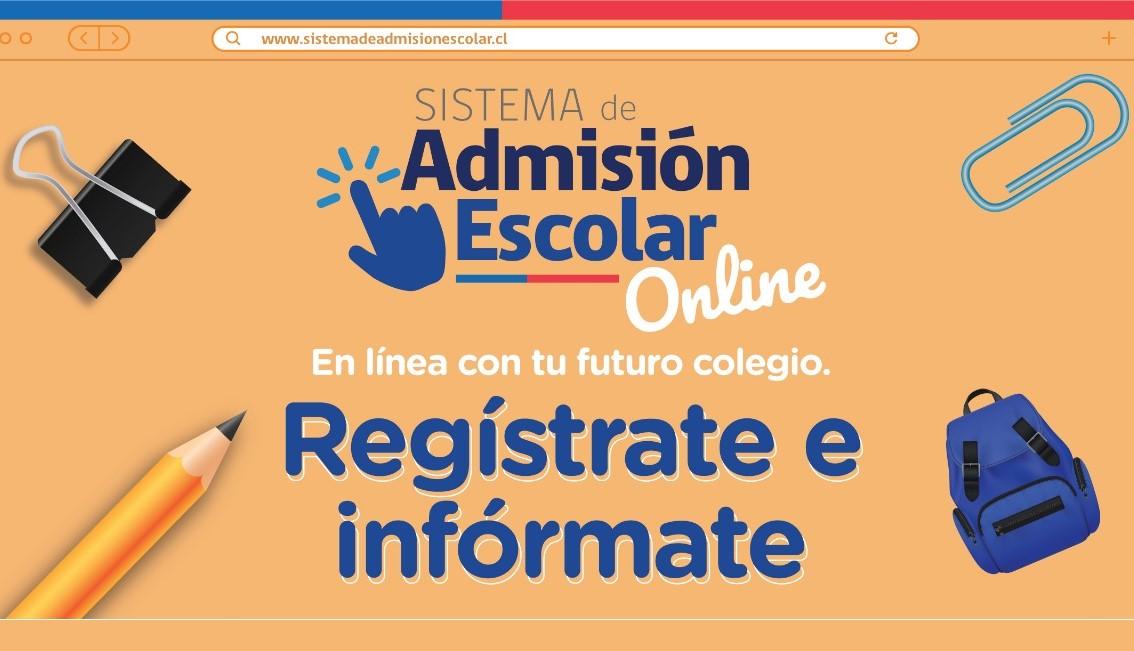 PRESENTAN NOVEDADES DEL SISTEMA DE ADMISIÓN ESCOLAR (SAE) EN CONTEXTO DE COVID-19