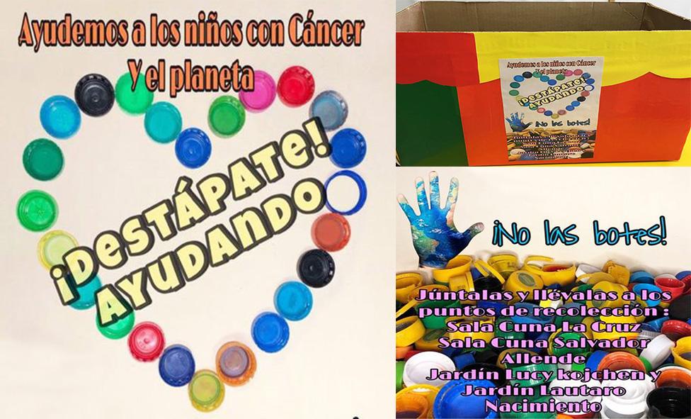 """SALAS CUNAS Y JARDINES INFANTILES VTF INVITAN A PARTICIPAR EN CAMPAÑA """"¡DESTÁPATE! AYUDANDO"""""""