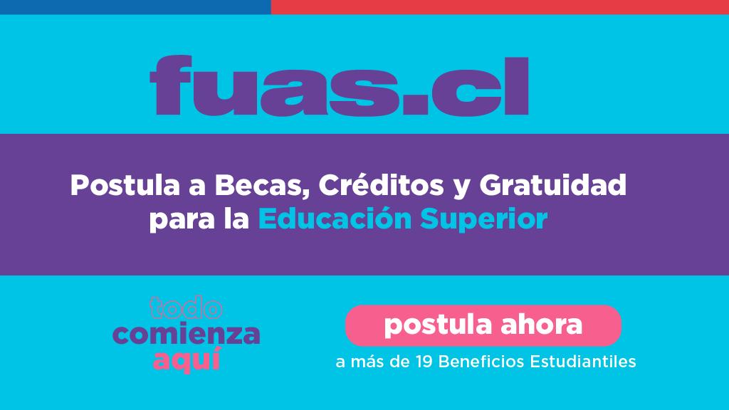 COMIENZA PERIODO DE POSTULACIÓN A BENEFICIOS ESTUDIANTILES PARA LA EDUCACIÓN SUPERIOR 2021