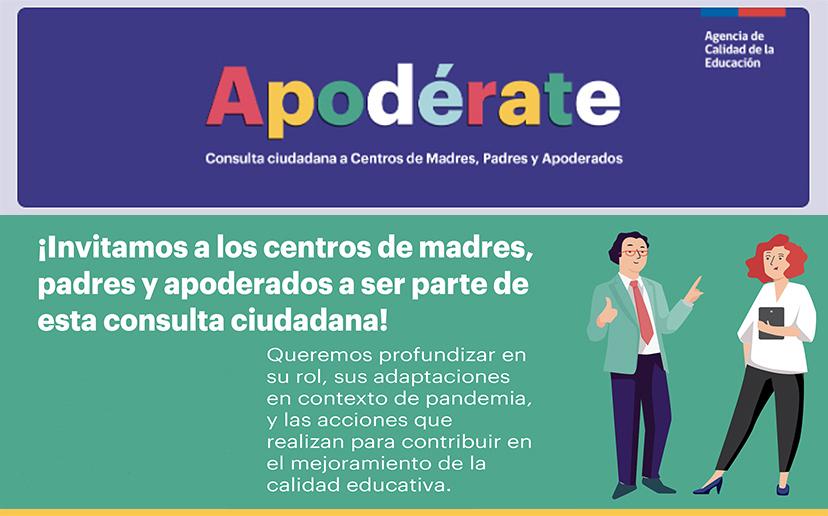 ¡PARTICIPA EN LA CONSULTA CIUDADANA PARA CENTROS DE MADRES, PADRES Y APODERADOS!